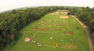 Adventure Camp From The Sky