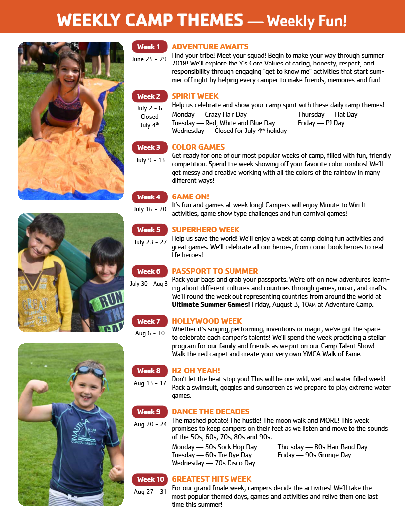 Albany YMCA Summer Camp - Capital District YMCA